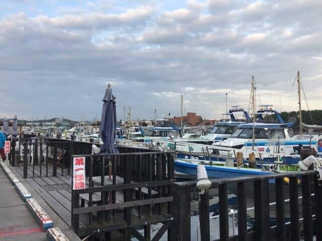 金沢漁港の写真