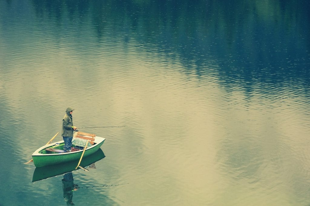 釣りの心得を伝授するイメージ画像