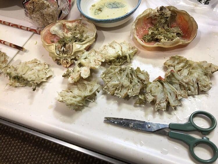 ズワイガニの美味しそうなおみ足のイメージ画像